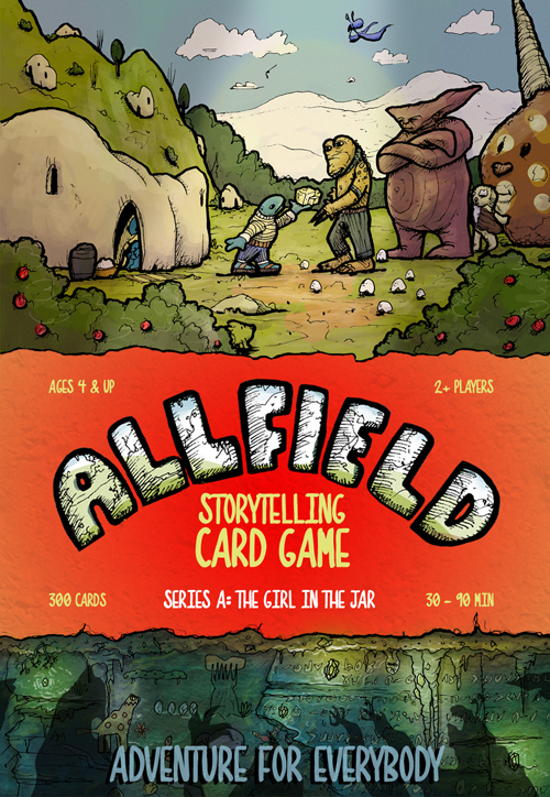 Allfield Game Box Cover for Directions Page